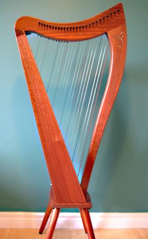 My new harp