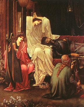 The Last Sleep of Arthur in Avalon (detail) by Edward Burne-Jones