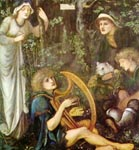 Painting by Edward Burne-Jones, 19th C.