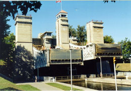 The Peterborough Lift Locks
